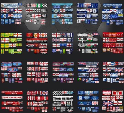 Данный графический патч включает в себя реалистичные флаги и баннеры для вс